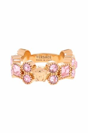 Encrusted ring od Versace